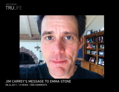 Image: Jim Carrey TruLife website