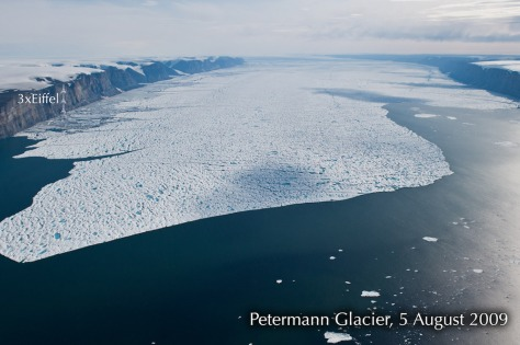 Image: Peterman Glacier, Aug. 5, 2009