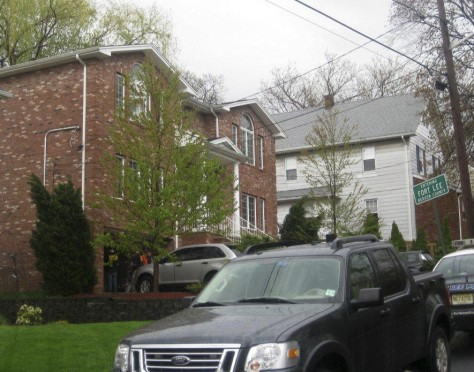 Image: The exterior of a home in Fort Lee, N.J., where heroin was packaged
