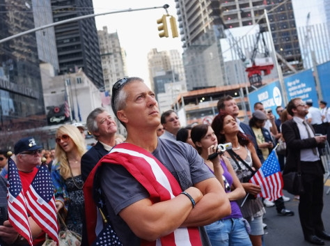 Image: New York City Commemorates 10th Anniversary Of 9/11 Terror Attacks