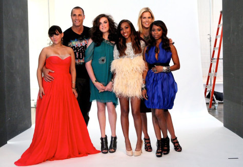 Image: Make-A-Wish participants with Nigel Barker and Mary Alice Stephenson