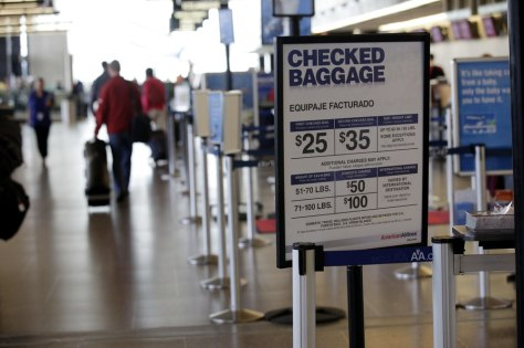 Ted S Warren Ap No One Likes Baggage Fees