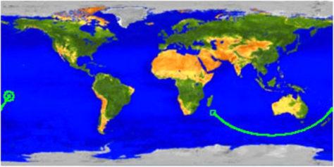 Image: UARS map