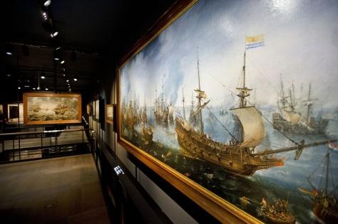 Image: Scheepvaartmuseum in Amsterdam
