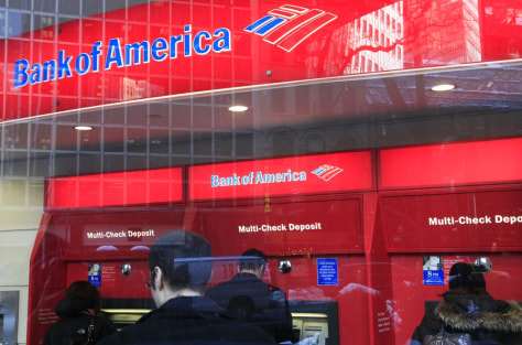 Image: Bank of America ATMs
