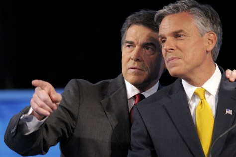 Image: Rick Perry, Jon Huntsman