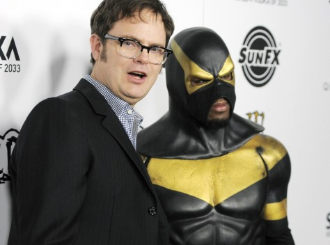 Image: Rainn Wilson with Phoenix Jones