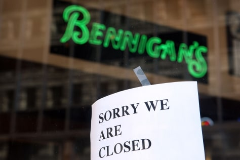 Image: Sign at Bennigan's
