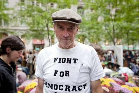 Image: William Johnsen, a Vietnam veteran and longtime activist