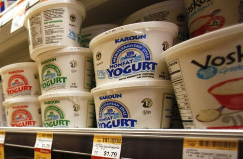 Image: Food Yogurt's Progress