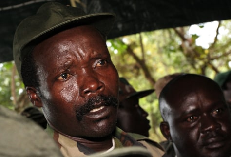 Image: Lord's Resistance Army leader Joseph Kony