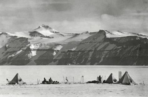 Image: One of Robert Falcon Scott's last photos