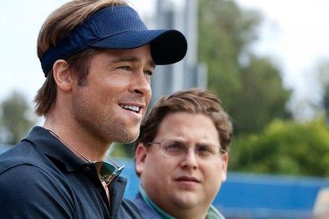 Image: Brad Pitt; Jonah Hill