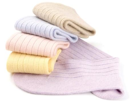 Image: Cashmere socks