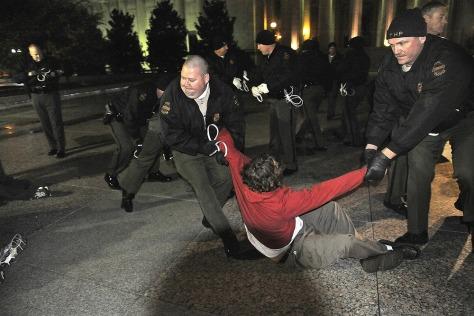 Image: Arrests at Occupy Nashville