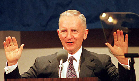 Ross Perot, US presidential candidate of the Refor