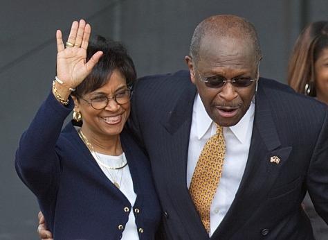 Image: Herman Cain, Gloria Cain