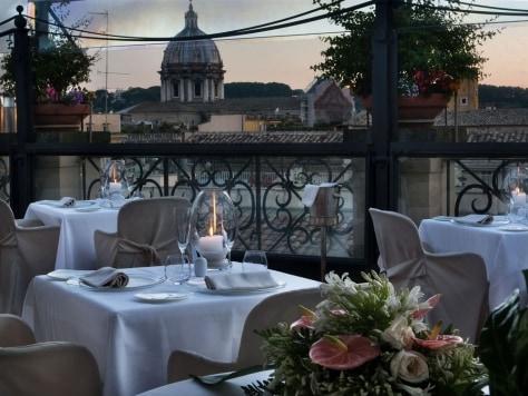 Image: Grand Hotel de la Minerve, Rome