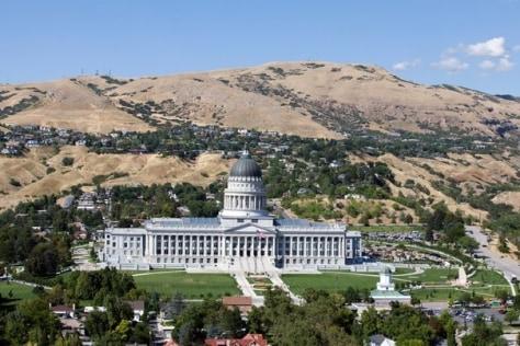 Image: Utah statehouse