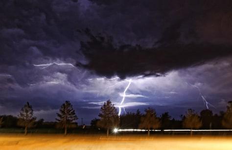 Image: Lightning storm