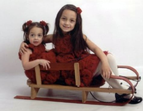 Image: This image provided by the Old Bridge N.J. police department shows Sophia, left, and Emma Trapp.