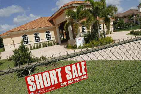 Image: Home for sale in short sale