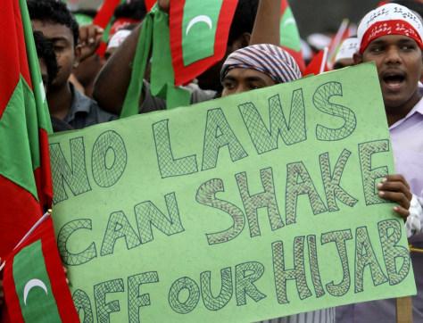 Image: Islamist protest