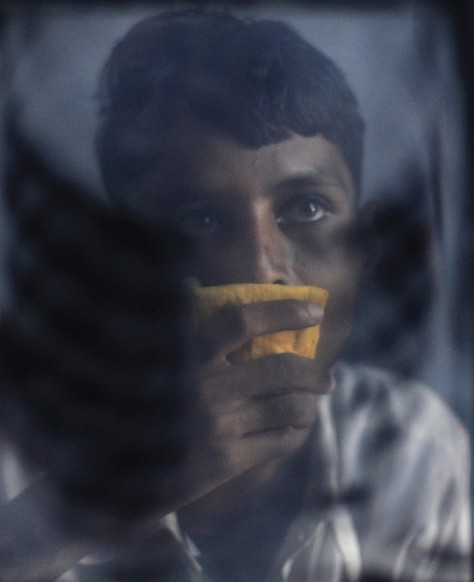 Image: Mohammed Shamim Sheikh, who suffers from multi-drug-resistant tuberculosis