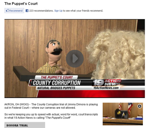 Image: The Puppet's Court
