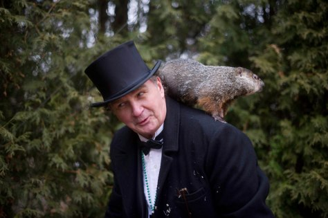 Image: Groundhog Day in Punxsutawney Pennsylvania