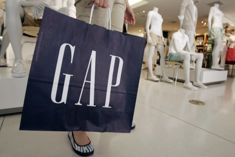 Image: Gap shopper