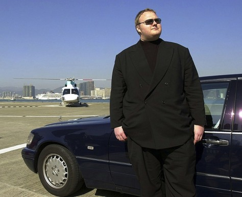 Image: Kim Dotcom (Schmitz) in Hong Kong in 1999
