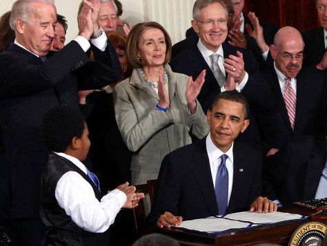 Image: President Obama Signs Health Care Reform Bill