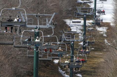 Image: Bare ski area