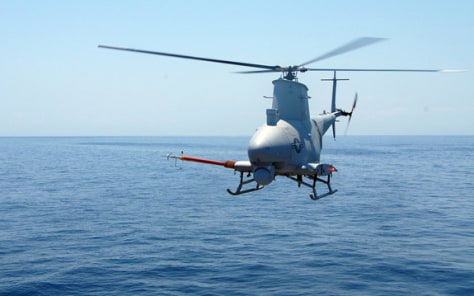 Image: Unmanned Aerial Vehicle MQ-8B Fire Scout