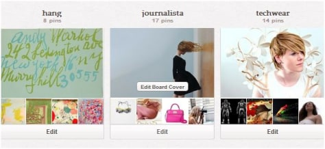 Image: Pinterest photo cover change