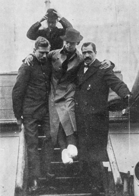 Image: Titanic's radio operator Harold Bride