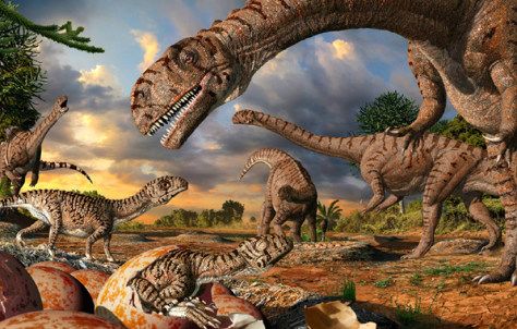 Image: Dinosaurs illustration