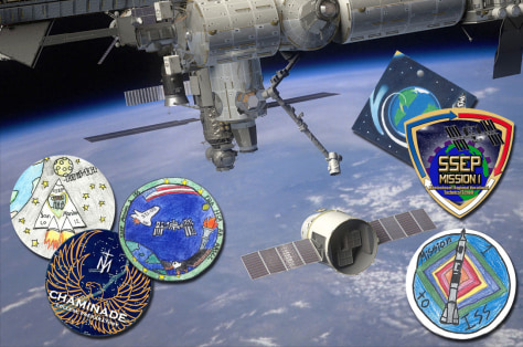 Image: Student-designed SpaceX mission patches