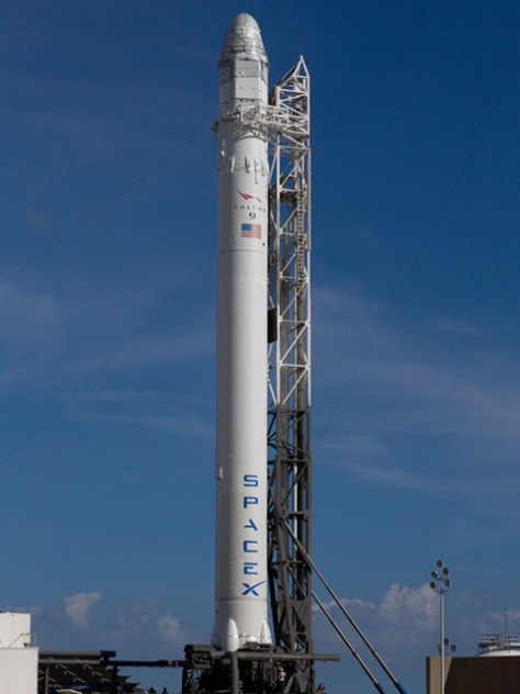 Image: SpaceX Falcon 8 rocket