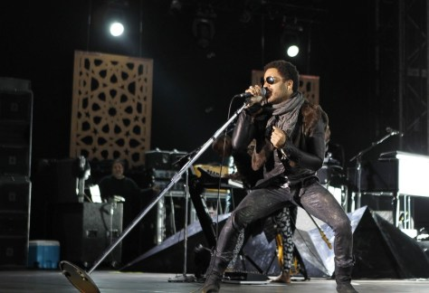 Image: Lenny Kravitz performs