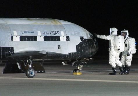Image: X-37B robotic space plane