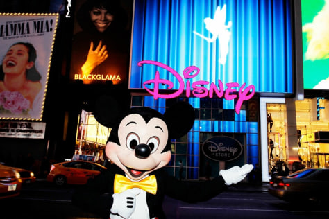 Image: Mickey in Times Square