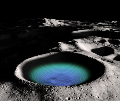 Image: Shackleton Crater