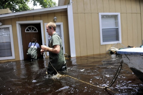 Image: Flooded home