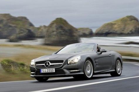Image: 2013 Mercedes-Benz SL Class.