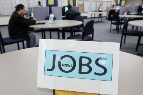 Image: California Unemployment Rates Stays At 12.4 Percent