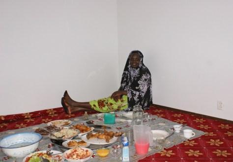 Image: Kaltouma Abakar, a refugee from Sudan's Darfur province, observes Ramadan in Finland.