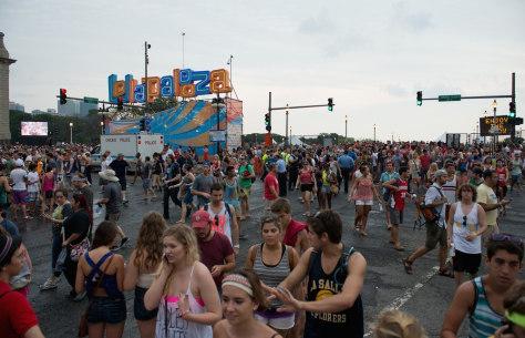 Image: Fansevacuate Lollapalooza
