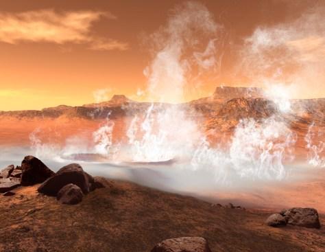 Image: Mars scenario